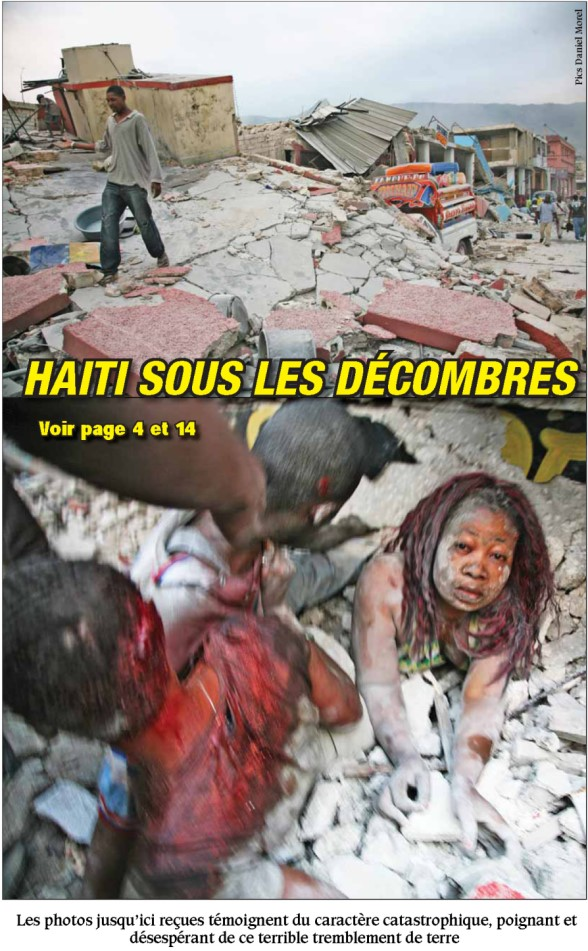 Devastation in Haiti from Magnitude 7.0 Earthquake